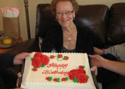 Flo Celebrates her 91st Birthday in Canada