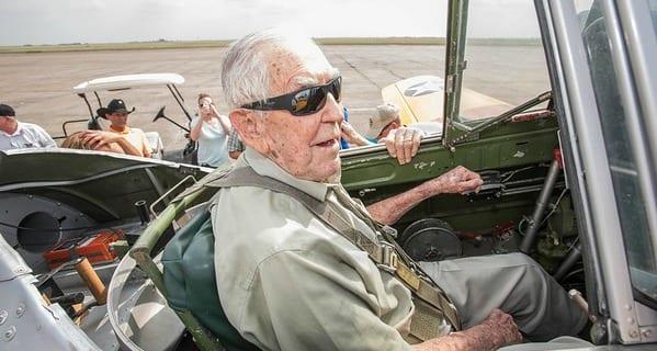 At 95, Roger Flies Again!