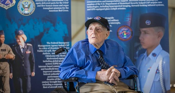 """104 Year-Old Howard """"Mac"""" Takes to the Skies"""