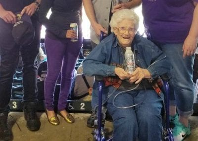 Maxine, 93, wishes to attend a Rockies baseball game!