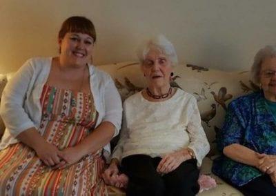 Sisters Joan and Betty Reunite