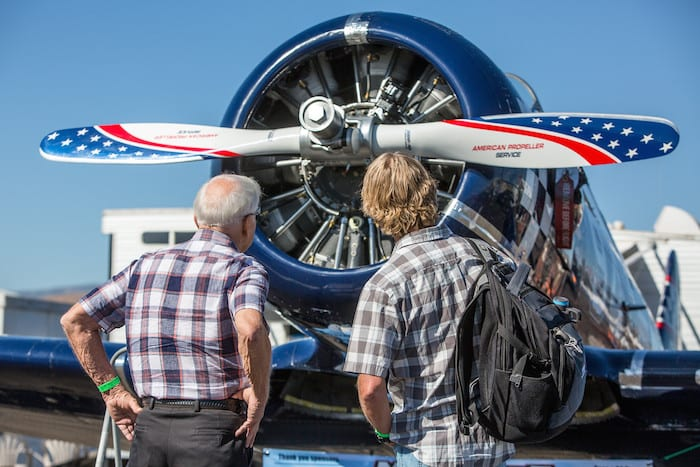 Chuck Attends the Reno Air Races - Wish of a Lifetime