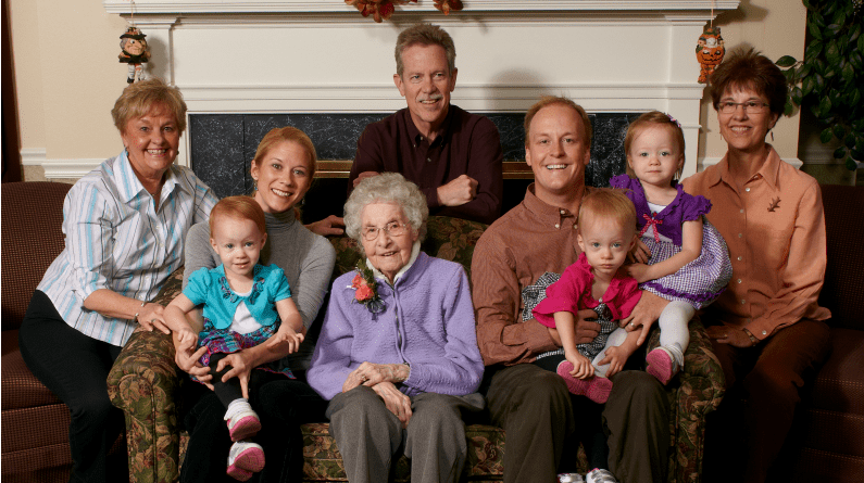 Eleanor Meets Triplet Great Grandchildren For The First Time Wish Of A Lifetime