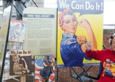 We Can Do It! Lina Mae Revisits Her 'Rosie' Past