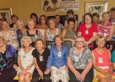 Paula Attends her 50th Nursing School Reunion