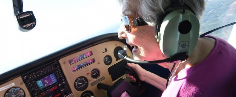 Frances flies again