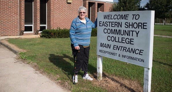 Gail Returns to the Eastern Shore of Virginia