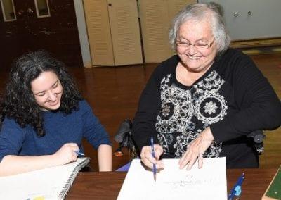 Joy Takes Art Lessons
