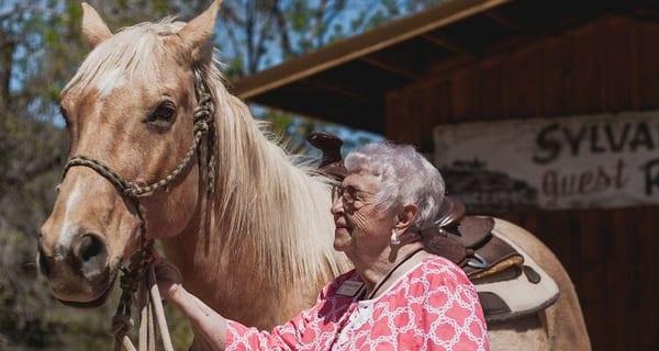Leora goes to Sylvan Dale Guest Ranch