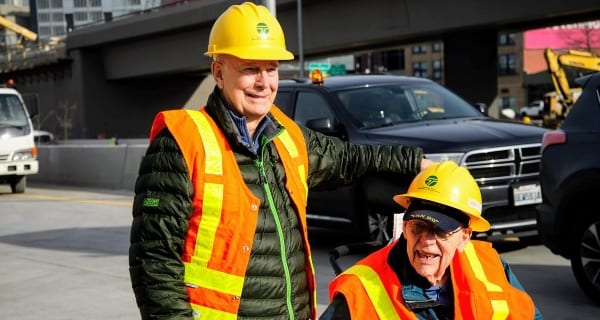 Jack Attends Alaskan Way Viaduct Closing