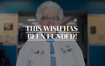 Click to fund Sylvia's Wish to Visit Washington D.C.